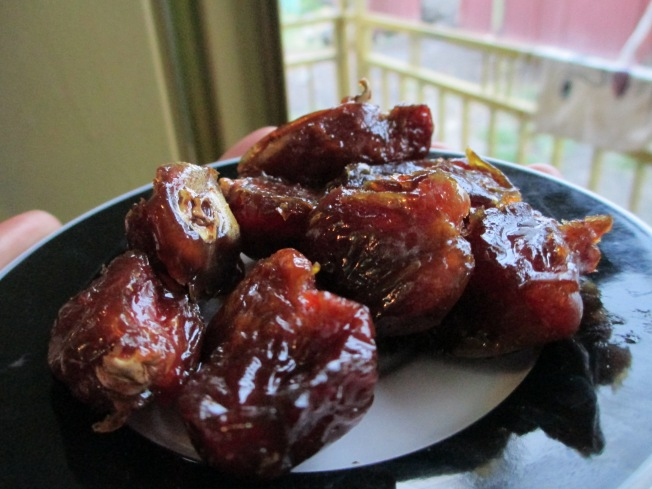Dates- traditional food of Muslims at Ramadan when they break the fast in the evening
